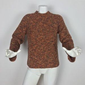 J. McLaughlin sweater turtleneck Wool Knitted Sz M